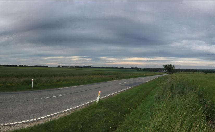 Løbetur på Langelinie